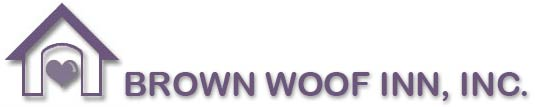 Brown Woof Inn, Inc., Logo